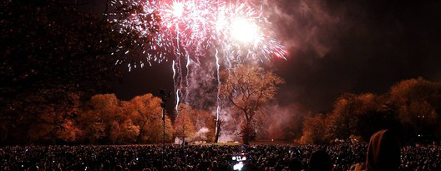 Leicester Fireworks
